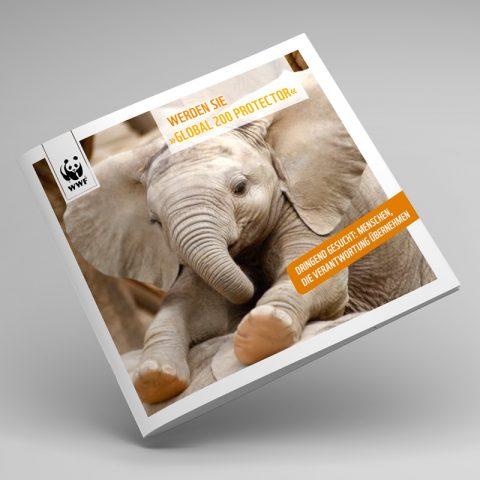 WWF Mailing-Kampagne