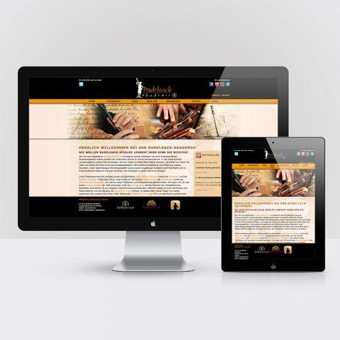 Dudelsack Akademie Webseite