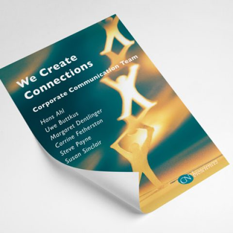 CN biosciences Corporate Communication Flyer