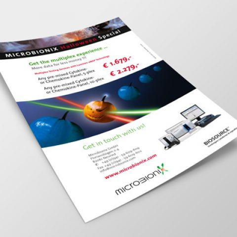 Microbionix Messeflyer