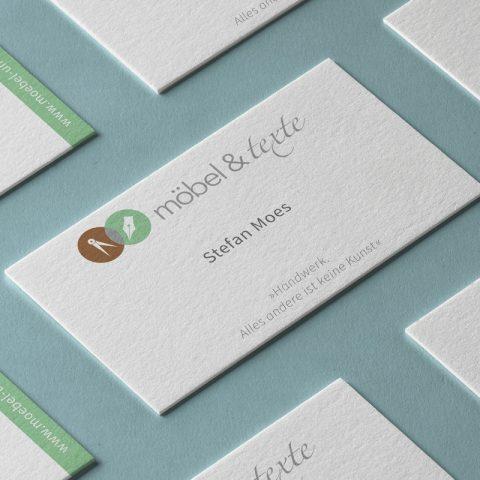 Möbel & Texte Corporate Design