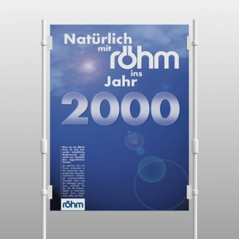 Röhm Milleniums Plakat